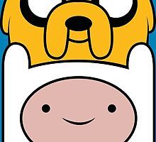 Finn and Jake by Chuppy