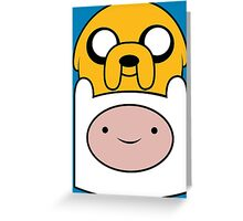 Finn and Jake Greeting Card