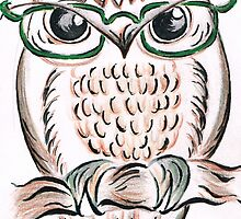 Those Owl Spectacles by Teresa White