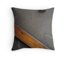 Gritty Compositions Throw Pillow