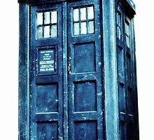 Doctor who- Tardis  by frostwolf0303