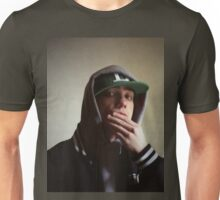 Hiphop rap singer medium format Hasselblad portrait photograph Unisex T-Shirt