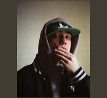 Hiphop rap singer medium format Hasselblad portrait photograph T-Shirt