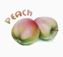 peach by hagitby