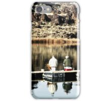 Old Friends Fishing iPhone Case/Skin