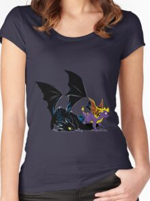 Spyro Toothless Women's Fitted Scoop T-Shirt