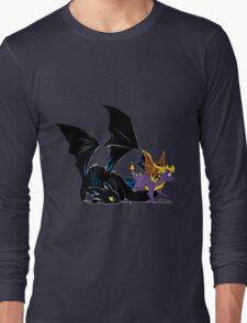 Spyro Toothless Long Sleeve T-Shirt