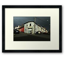 Jerry's Gaff Framed Print