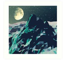 Night Mountains No. 2 Art Print