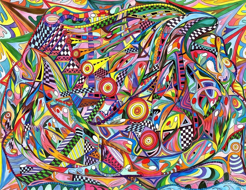 Checked Out and Optically Crazed by Joanne Jackson