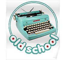 Typewriter Vintage Poster