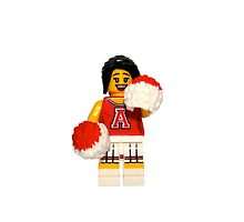 LEGO Cheerleader by jenni460