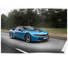 BMW i8 Poster