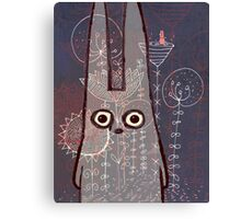 sad bunny Canvas Print