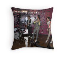 JONAS BROTHERS, TEENS LOVE THEM Throw Pillow