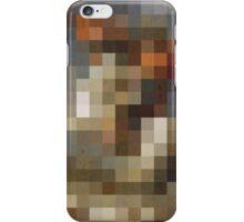 pixel naploeon iPhone Case/Skin