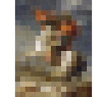 pixel naploeon Photographic Print