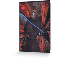 Anakin Skywalker, Star Wars Greeting Card