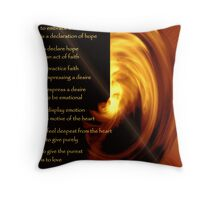 To Dream - the image Throw Pillow