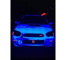 Subaru WRX STI Photographic Print