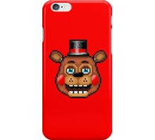Five Nights at Freddy's 2 - Pixel art - Blue eyes Toy Freddy iPhone Case/Skin