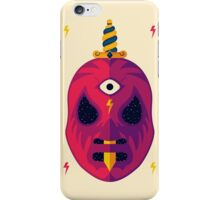 LUCHADOR COSMICO iPhone Case/Skin
