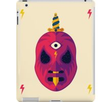 LUCHADOR COSMICO iPad Case/Skin