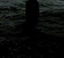 no one in the sea  Sticker