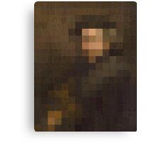 pixel rembrandt Canvas Print
