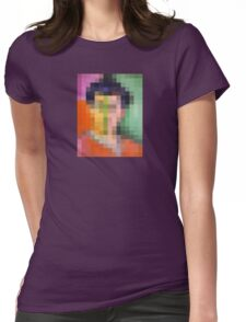 pixel matisse Womens Fitted T-Shirt