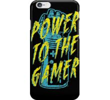 Power to the Gamer! iPhone Case/Skin