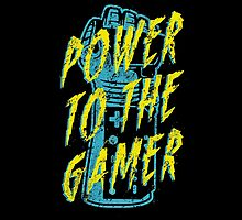 Power to the Gamer! by Brandon Wilhelm