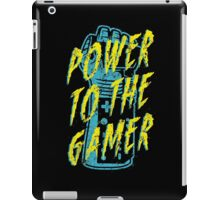 Power to the Gamer! iPad Case/Skin
