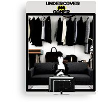 Undercover Gamer Canvas Print