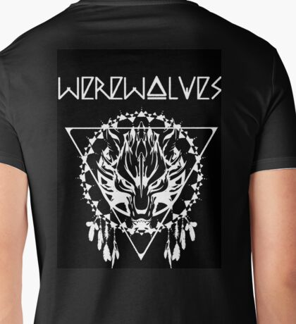 Werewolves Mens V-Neck T-Shirt