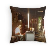 Franks Front Room Throw Pillow