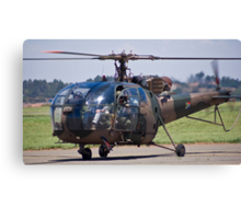 Sud Aviation SE-316B Alouette III Helicopter - SAAF 628 Canvas Print