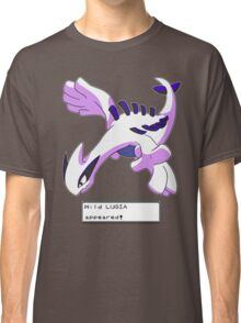 Wild Lugia Appeared! Classic T-Shirt