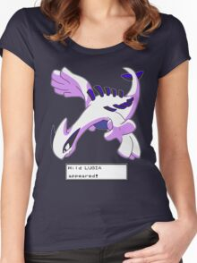 Wild Lugia Appeared! Women's Fitted Scoop T-Shirt