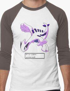 Wild Lugia Appeared! Men's Baseball ¾ T-Shirt