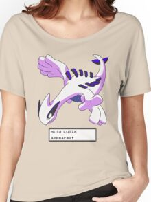 Wild Lugia Appeared! Women's Relaxed Fit T-Shirt