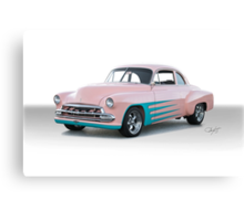 1952 Chevy Custom Coupe Canvas Print