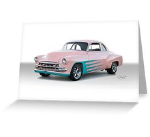 1952 Chevy Custom Coupe Greeting Card