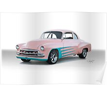 1952 Chevy Custom Coupe Poster
