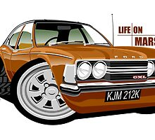 Ford Cortina mk 3 from Life on Mars by car2oonz