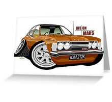 Ford Cortina mk 3 from Life on Mars Greeting Card