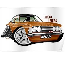 Ford Cortina mk 3 from Life on Mars Poster