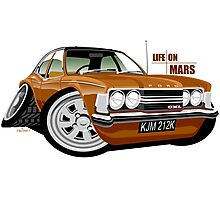 Ford Cortina mk 3 from Life on Mars Photographic Print