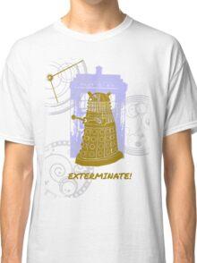 Dalek EXTERMINATE Fade Shirt Classic T-Shirt
