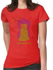 Dalek EXTERMINATE Fade Shirt Womens Fitted T-Shirt